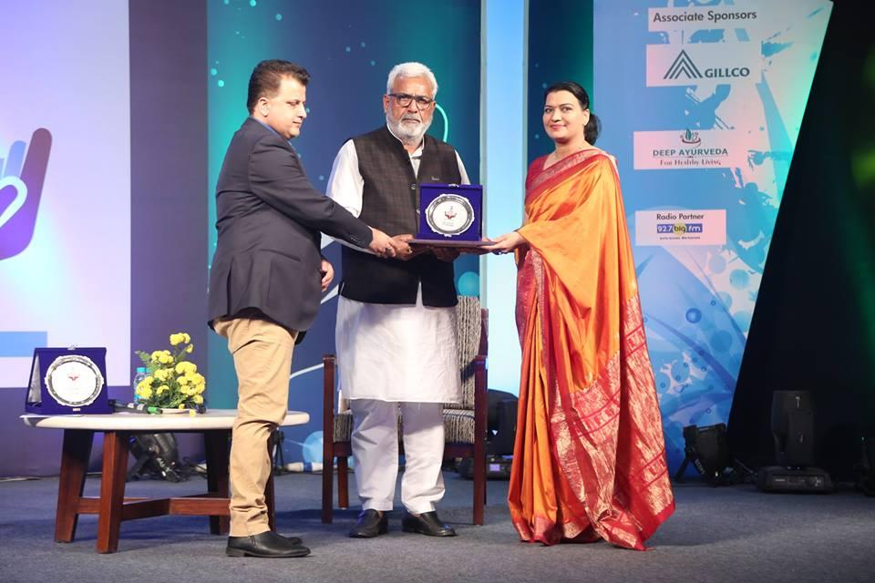Awarded by Health Minister of Punjab Sh.Surjit Kumar Jyani...