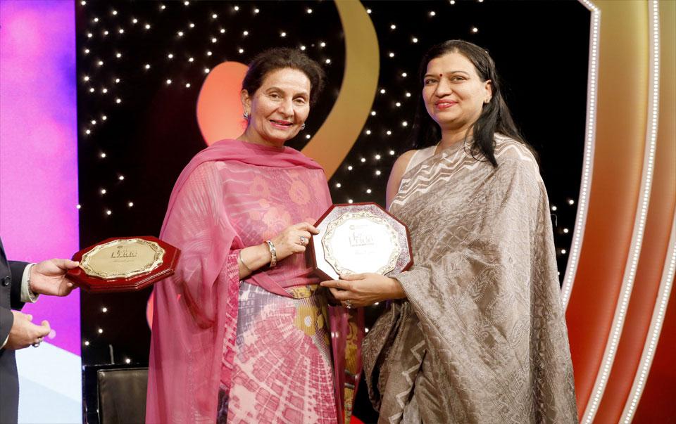 Award by Cabinet Minister Parneet Kaur...