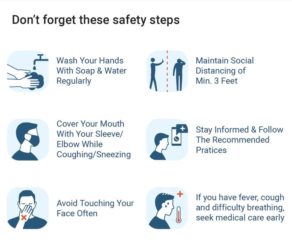 Covid-19- Safety Guidelines